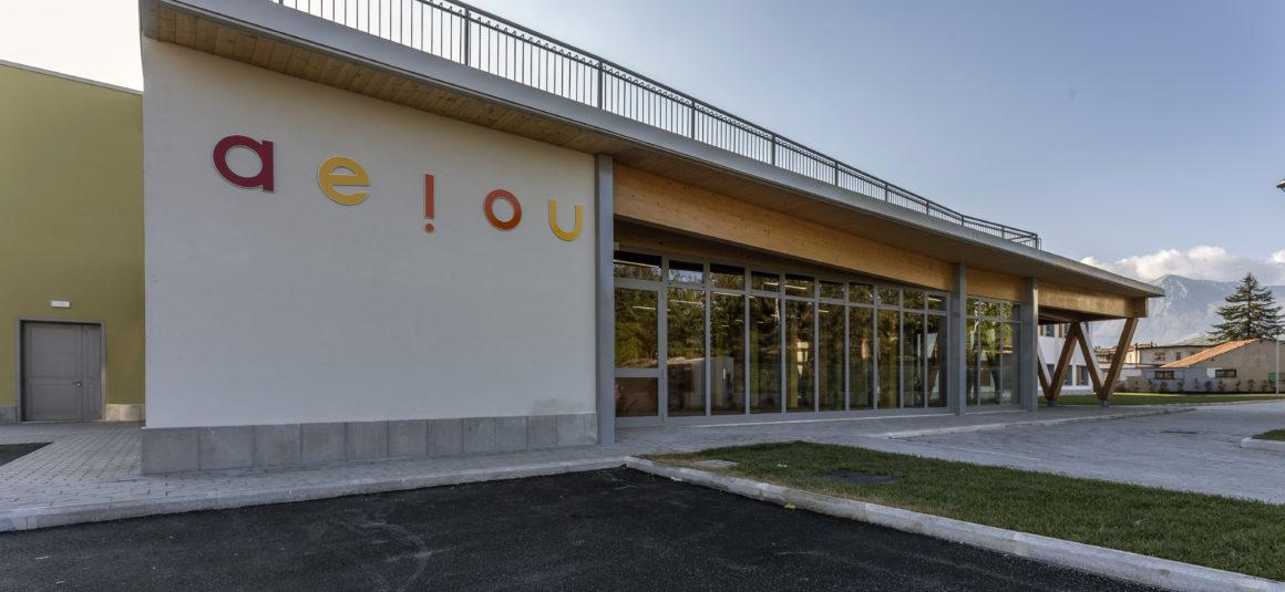 Scuola Primaria in Via Cairoli – Avezzano (AQ)