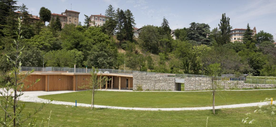 """Giardino della """"Casa del Fiume"""" – Cuneo"""