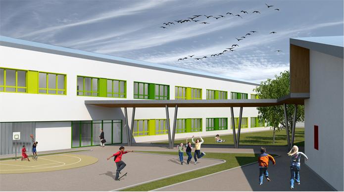 Polo scolastico per Infanzia, Primaria, Secondaria di 1° grado – Pratola Peligna (AQ)