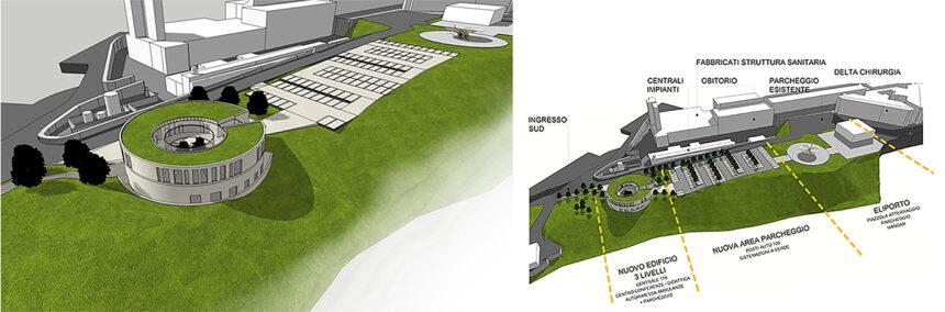 Nuova centrale del 118 con eliporto e hangar – Ospedale S.Salvatore – L'Aquila