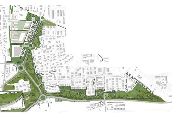 """""""Lungo i bordi"""" – Progetto unitario di verde pubblico – Reggio Emilia"""