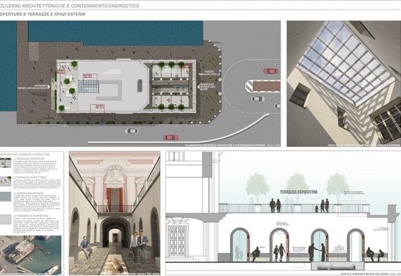Sistema integrato portuale – Allestimento di spazi in area portuale da adibire a cantiere di restauro  – Napoli