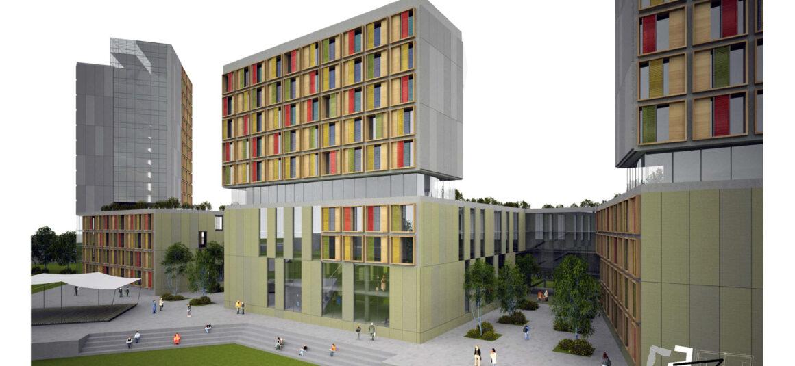 Glyndwr University Residences Competition – Wrexham (Regno Unito)