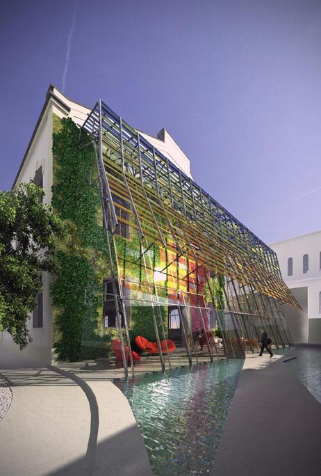 Fondazione MAXXI, Recupero bioclimatico palazzina D – Roma