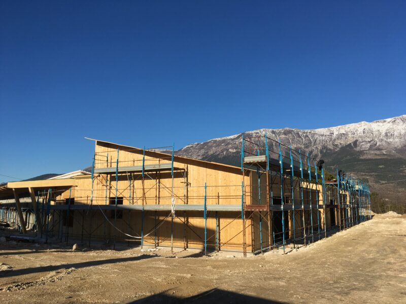 Proseguono i lavori di costruzione del nuovo Polo scolastico di Pratola Peligna (AQ)
