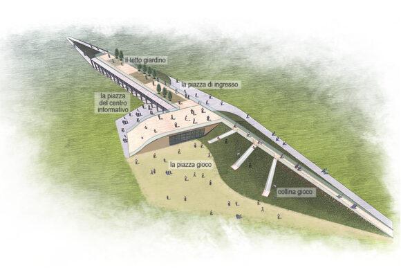 Nuovo centro informativo espositivo per il Parco di Centocelle