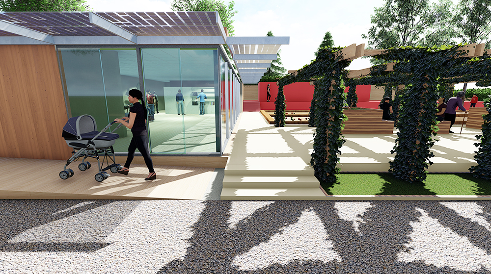 Completamento del Centro Anziani di Villa Fiorelli