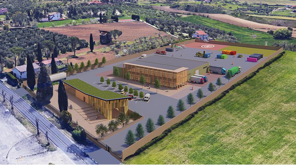 Centro logistico della Protezione Civile della regione Lazio