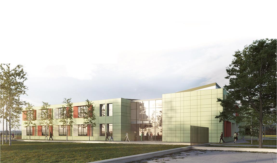 """Nuova Scuola Secondaria Inferiore """"G. Toniolo"""" nel comune di Istrana (TV)"""