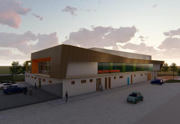 Nuova palestra presso il polo scolastico San Giovanni in Venere