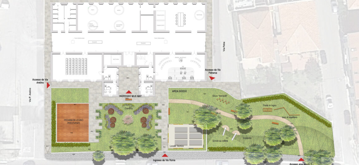Giardino della Casa della Musica MUSMAT – Olbia (SS)