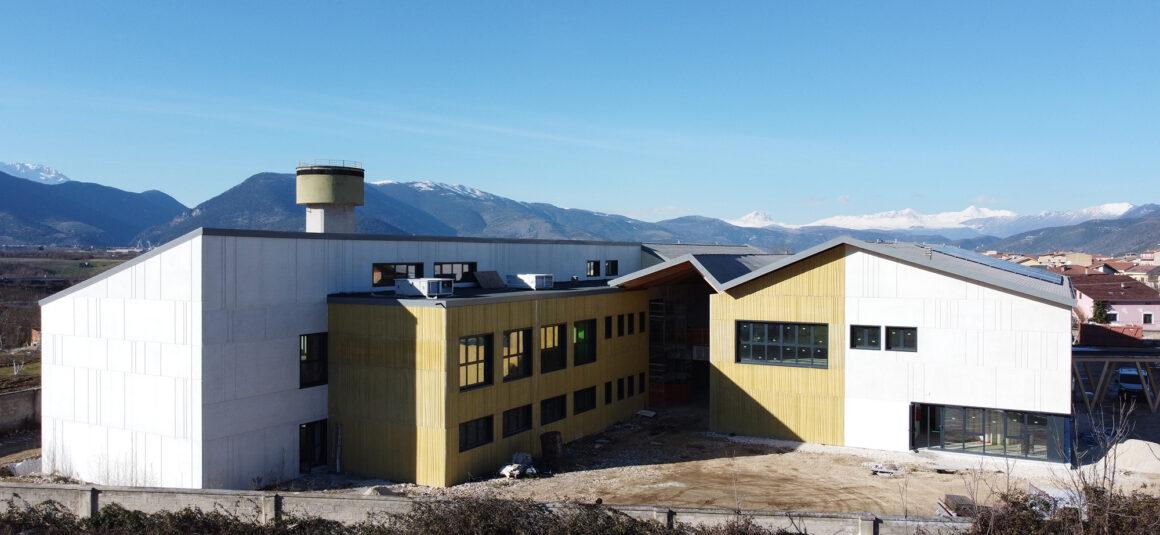 Polo scolastico per Infanzia, Primaria, Secondaria di I° grado – Pratola Peligna (AQ)